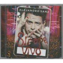 Cd+dvd Alejandro Sanz - Sirope Vivo [europeu]