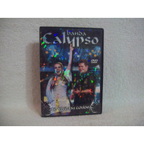 Dvd Original Banda Calypso- Ao Vivo Em Goiânia