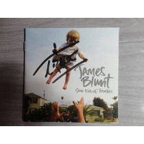 Cd James Blunt Autografado Trouble Apollo Lost Back Moon Dvd