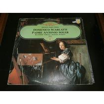 Lp Sonatas Para Cravo - Domenico Scarlatti, Disco Vinil