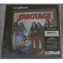 Black Sabbath Sabotage Lp 180 Gramas Rhino Vinyl Selado