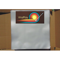 80 Plasticos Disco De Vinil 32x32x0,15+2 Capas