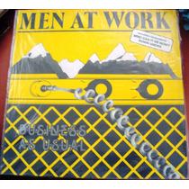 022 Mvd- Lp 1981- Men At Work Business As Usual- Vinil Rock