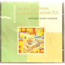 Cd Almir Chediak - Songbook Canções Do Século Xx - Novo***
