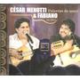 Cd Cesar Menotti Fabiano - Palavras De Amor Ao Vivo