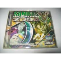 Cd Sambas De Enredo Rj - Carnaval 2000* Excelente Igual Novo