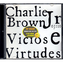 Charlie Brown Jr Cd Single Vicios E Virtudes - Lacrado Raro