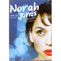 Dvd Norah Jones - Live In Germany 2012 - Novo***