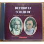Beethoven Schubert Cd Nac Usado Symphonies 5 & 8 Lpo Scholz