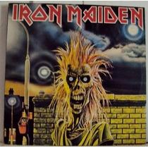 800 Mdv- 1980 Lp- Iron Maiden- Heavy Metal- Vinil Disco