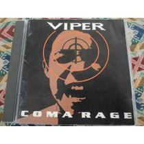 Viper - Coma Rage (1994) Cd Fora De Catálogo Angra Shaman