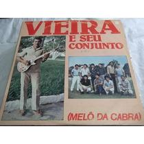 * Lps Vinil - Vieira E Seu Conjunto - Sertanejo