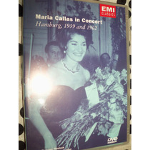 Dvd Maria Callas In Concert Hamburg, 1959 And 1962