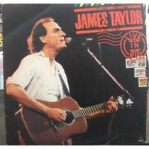 Lp Rock Pop: James Taylor - Live In Rio - Frete Grátis