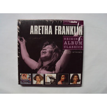 Box Com 5cds - Aretha Franklin- Original Album Classic