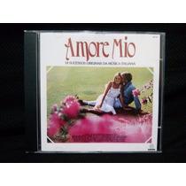 Cd Amore Mio - Músicas Romanticas Italianas - 1984