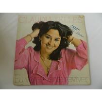 Claudia Telles 1980 Eu Voltei - Compacto /ep 22.02