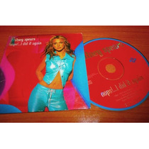 Cd Single: Britney Spears - Oops!..i Did It Again,cardsleeve