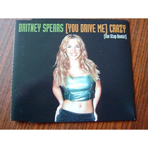 Cd Single: Britney Spears -you Drive Me Crazy The Stop Remix