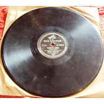 724 Mdv- Lp Disco 78 Rpm- 1953 Nelson Gonçalves Samba Cançao