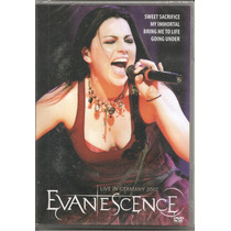 Dvd - Evanescence - Live In Germany 2007 - Lacrado