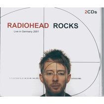 Radiohead Rocks Live Germany 2001 (cd Duplo Novo E Lacrado)