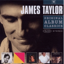Cd James Taylor - 5cds Box Original Album Classic