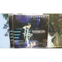 Cd Leonardo Ao Vivo Original Grandes Sucessos (p) 2002