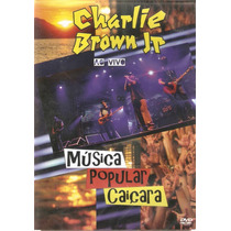 Dvd Charlie Brown Jr. - Música Popular Caiçara - Novo***