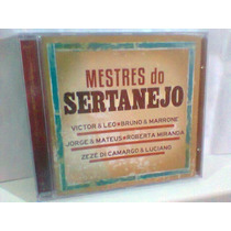 Cd Mestres Do Sertanejo @ Diversos -lacrado- Frete Grátis