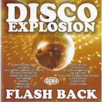 Cd Disco Explosion Flash Back 20 Grandes Sucessos Original