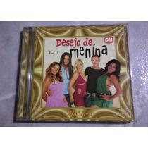 Cd Forró Desejo De Menina - Vol. 3 - Moldura