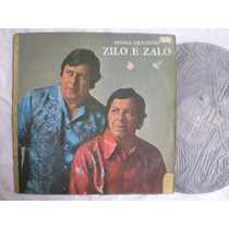 Lp - Zilo E Zalo / Minha Gratidão / Continental / 1974