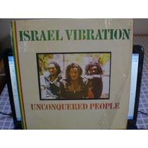 Lp Israel Vibration - Unconquered People Importado R$ 280,00