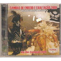 Cd Sambas Enredo - São Paulo Carnaval 2009 ( Duplo Lacrado )