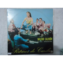 Disco Vinil Lp Waldir Calmon Sua Orquestra Ritmos Do Caribe