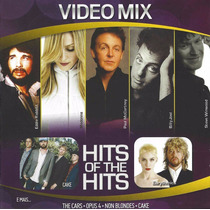 Cd Video Mix Hits Of The Hits Madonna Billy Joel The Cars...