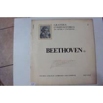 Disco De Vinil Lp Grandes Compositores Da Musica...beethoven