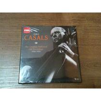Box Lacrado Cds Pablo Casals Emi Gravações Completas Bach