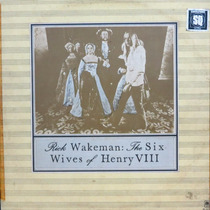 Lp Rick Wakeman The Six Wives Of Henry Viii Vinil Raro Sq