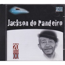 Jackson Do Pandeiro - Cd Millennium - Seminovo
