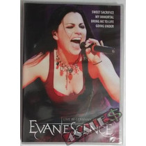 Dvd Evanescence Live In Germany 2007