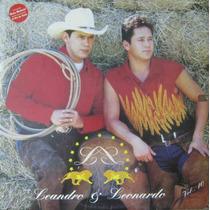 Leandro E Leonardo - Lp Vol. 10 - 1996 Com Encarte