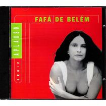 Cd Fafá De Belém - Série Aplauso - 14 Sucessos Originais