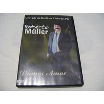 Dvd Roberto Muller Vamos Amar