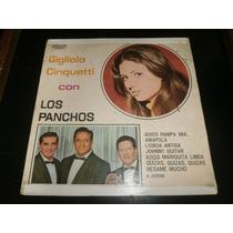 Lp Gigliola Cinquetti Con Los Panchos, Disco Vinil, Ano 1968