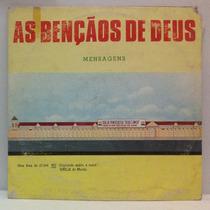 Lp As Bençãos De Deus - Mensagens - 1988 - Voz Da Libertação
