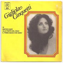 Gigliola Cinquetti-compacto-alle Porte Del Sole-lp-vinil-ita