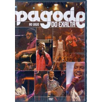 Pagode Do Exalta Ao Vivo Dvd Lacrado