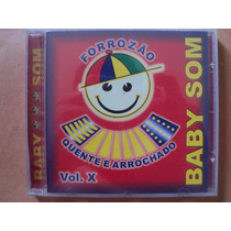 Forrozão Baby Som- Cd Volume X 10- 2004- Original- Zerado!